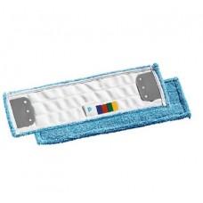 Моп для влажной уборки Microblue с держателями, микроволокно, 40х13, для гладких полов /00000695