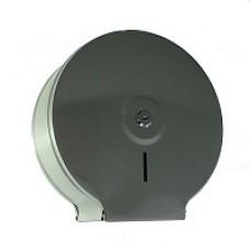 Диспенсер для туалетной бумаги,с ключом - барабан / нержавейка d 250мм, глубина 120мм /, код: 920