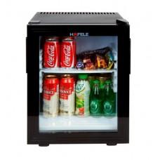 Мини-бар HAFELE 28 литров со стеклянной дверцей , 220 В, черный