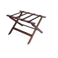 Подставка для багажа деревянная с черной нейлоновой лентой, складная WOOD