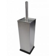 Ёрш для унитаза напольный квадратный из нержавеющей стали ., код: 307К