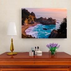 Картина на холсте 'Берег', 90x60 см.