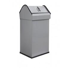 Контейнер для мусора серый 41 литр (пр-во Испания)