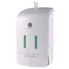 Дозатор для жидкого мыла двойной 2х550мл, код: 151052