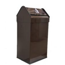 Контейнер для мусора коричневый 41 литр (пр-во Испания)
