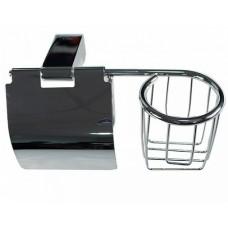Держатель освежителя воздуха и туалетной бумаги с экраном, код: 77244