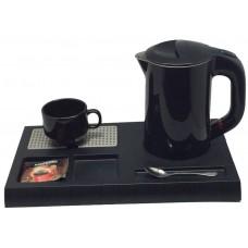 Поднос для чайника FJ999D, черный, Комплектуется с чайниками KJ-25, KJ-15, KJ-26,