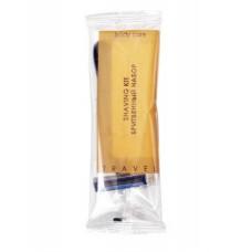 Бритвенный набор флоупак, крем для бритья в саше 6 г серия TRAVEL