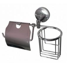 Держатель освежителя воздуха и туалетной бумаги с экраном, код: 1216