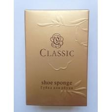 Губка для обуви в картоне CLASSIC GOLD
